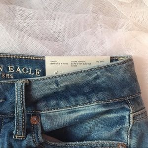 NWT American Eagle Tom Girl Jeans 00 Reg